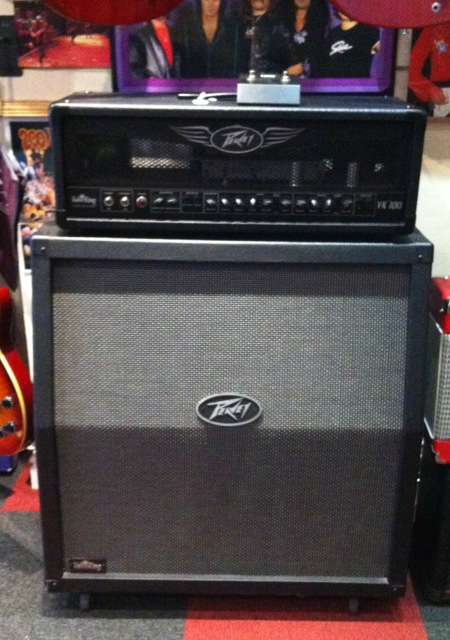 peavey valveking 100 watt half stack wizard guitars sheffield 39 s guitar specialists. Black Bedroom Furniture Sets. Home Design Ideas