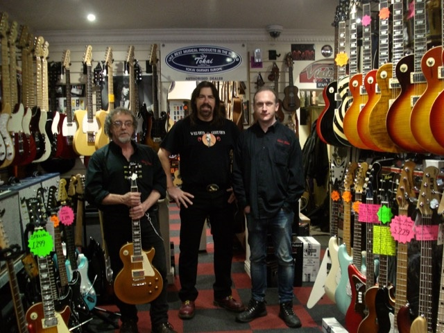 Wizard Guitars in Sheffield